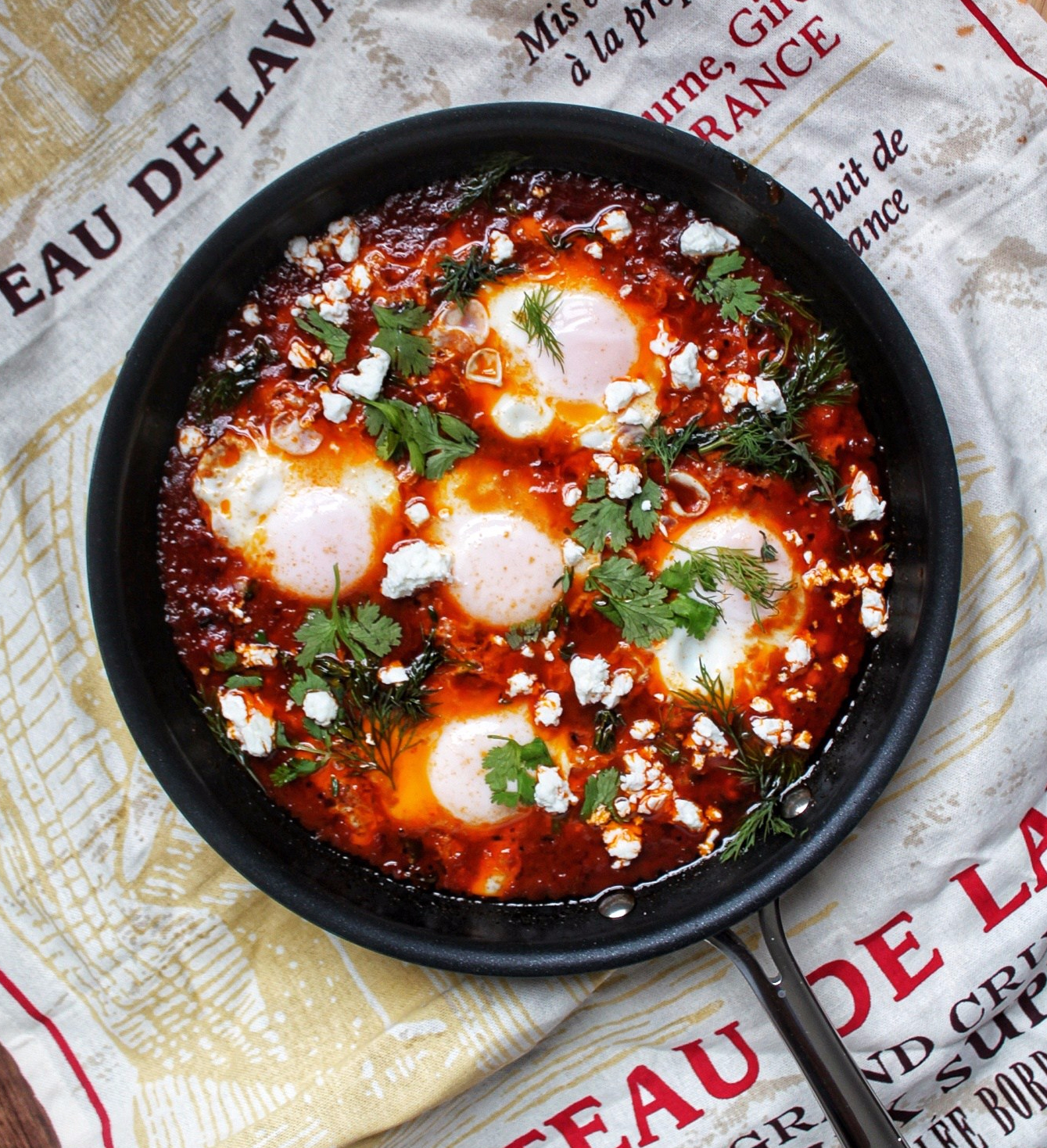 Winter Spiced Shakshouka